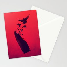 Bullet Birds Stationery Cards