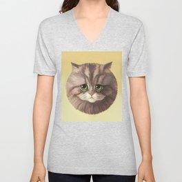 Round Cat - Poe Unisex V-Neck