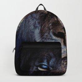 Blue-Gold Lion Backpack