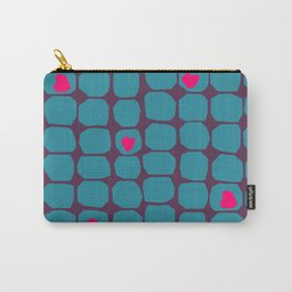 stylish Valentine's hearts Carry-All Pouch