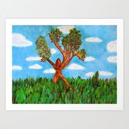 Menses 40: The Venus Tree Art Print