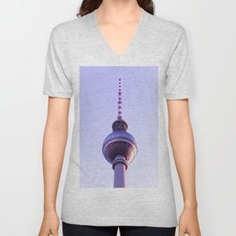 Berlin TV Tower (Fernsehturm) Unisex V-Neck