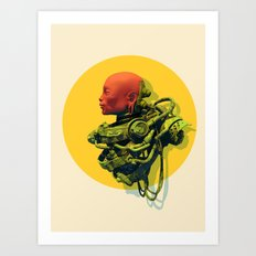 Scaph Art Print