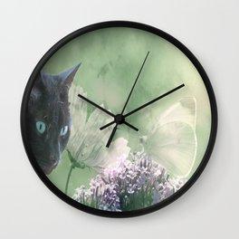 Eye contact ;0) Wall Clock