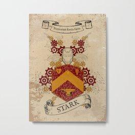 Stark Coat of Arms  Metal Print