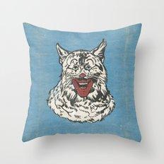 RONALD CATDONALD Throw Pillow