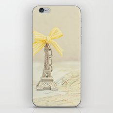 Paris, je t'aime iPhone & iPod Skin