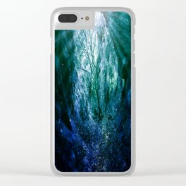 Mystic Tree of Life & Death Clear iPhone Case