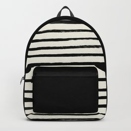Black x Stripes Backpack