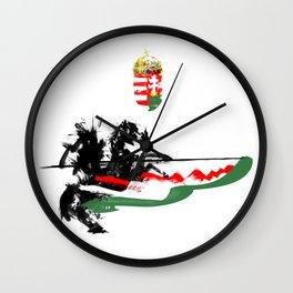Hungarian Hussar Wall Clock