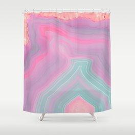 Agate Summer Texture Shower Curtain