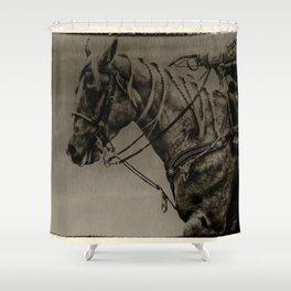 Work Ethic Shower Curtain
