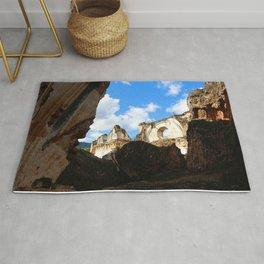 Among the rubble - Antigua Guatemala Rug