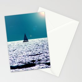 A oat on the horizon Stationery Cards
