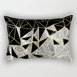 Marble Ab Rectangular Pillow