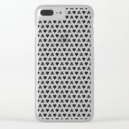 Ahoy shipmates, some funky Pirate hearts goodies for you! Clear iPhone Case