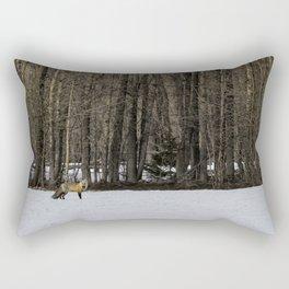Beautiful Red Fox, No. 1 Rectangular Pillow