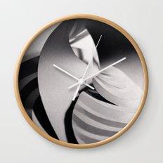 Paper Sculpture #6 Wall Clock