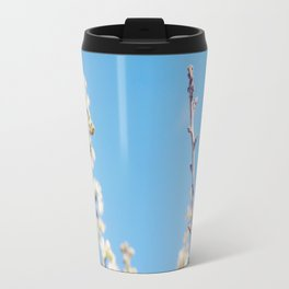 Blue Blossoms Travel Mug