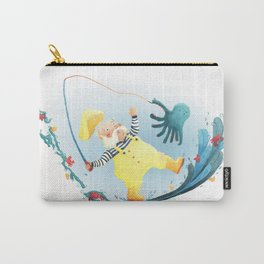 FISHERMAN FRENZY!   Carry-All Pouch