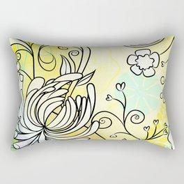 Lovely March Day Rectangular Pillow