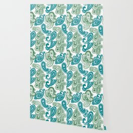 fun paisley Wallpaper