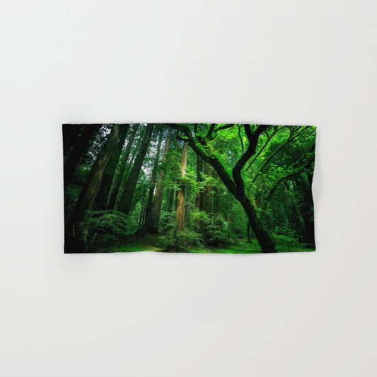 Enchanted forest mood II Hand & Bath Towel