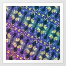 Brainman Pattern Art Print