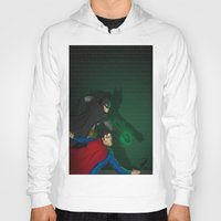 justice Hoodies featuring Justice by David Dino