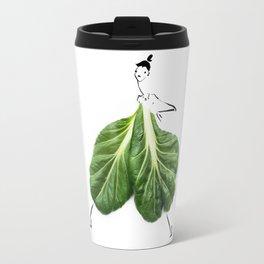 Edible Ensembles: Tatsoi Travel Mug