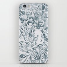seeing with eyes closed iPhone & iPod Skin