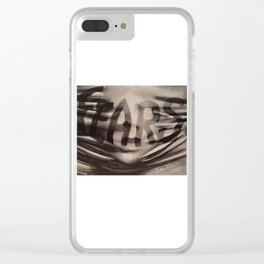 Your Fears Are What's Smothering You Clear iPhone Case