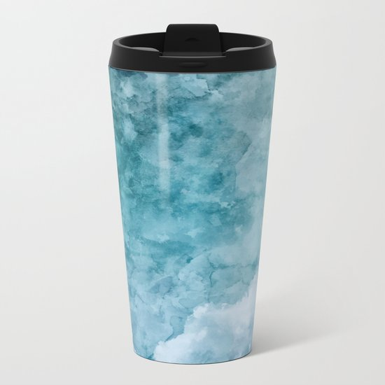 Over The Clouds Metal Travel Mug