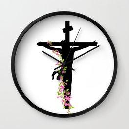Christ Wall Clock