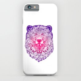 Tribal Bear iPhone Case