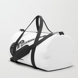 Black Guitar Duffle Bag