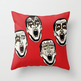 Kiss Cage Throw Pillow