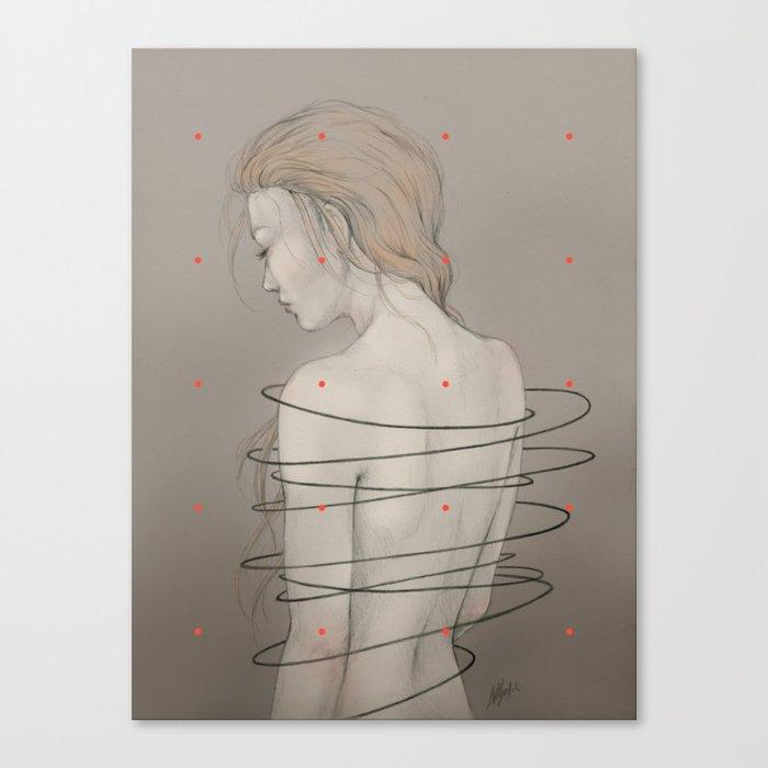 Ensnared Canvas Print
