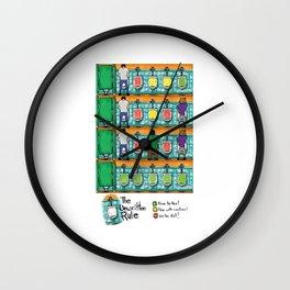 The Unwritten Rule Wall Clock