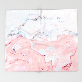 Marble Love #society6 #decor #buyart Throw Blanket