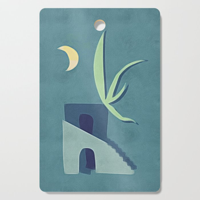 Moon House Cutting Board