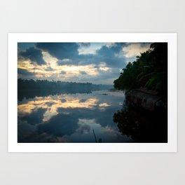 Backwaters Art Print