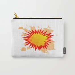Splat Background Carry-All Pouch