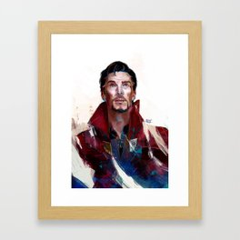 Doctor Strange Framed Art Print