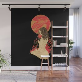 CHERRY WAVES Wall Mural