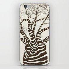 Zebra Tree iPhone & iPod Skin