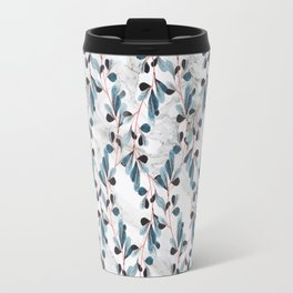 Botanical Marble Travel Mug