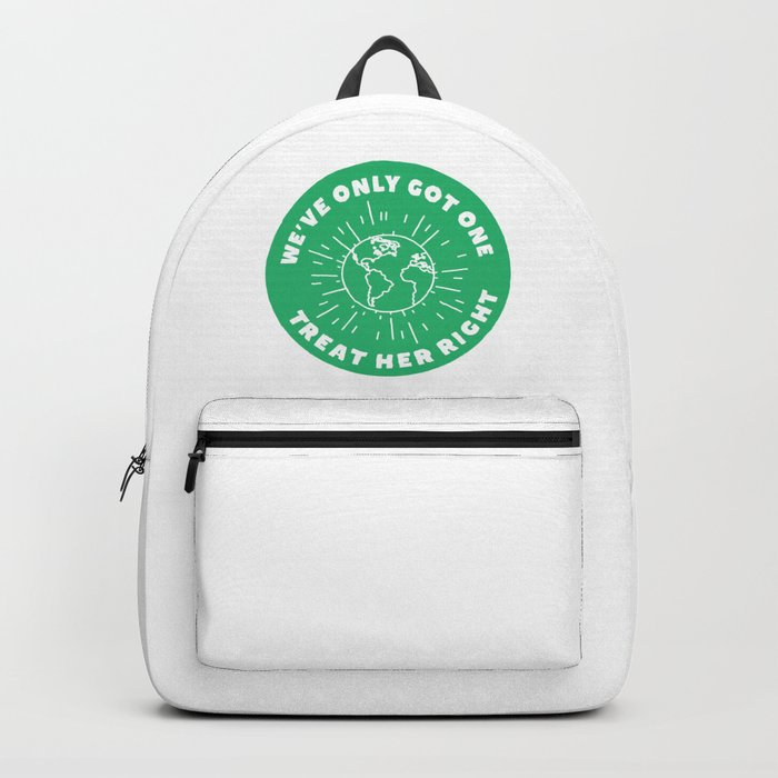 Treat Your Mother Right Backpack