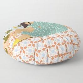Parisian chic Floor Pillow