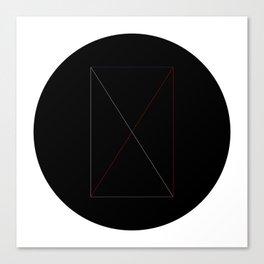 Circles and shapes Canvas Print
